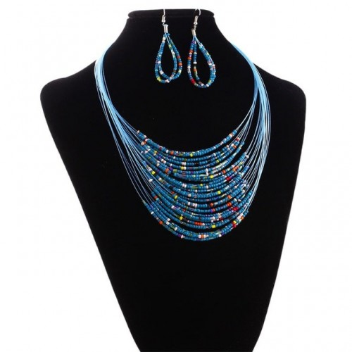 Layered Epic Bead Necklace...