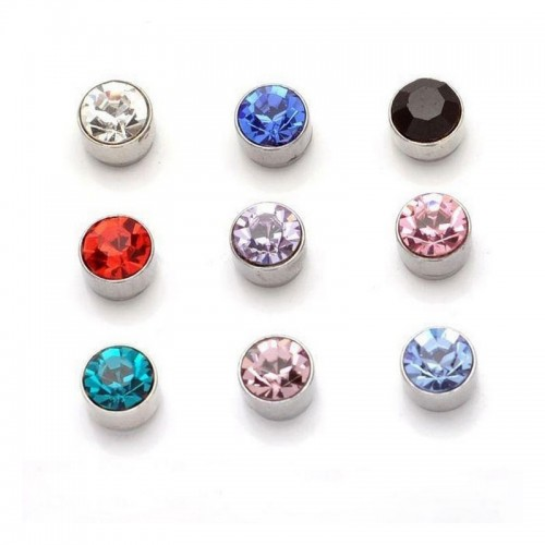 Cute Round magnetic Stud...
