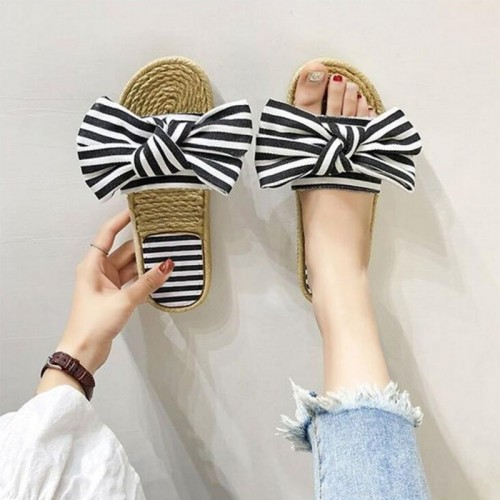 Sweet Slippers Big Bow-knot...