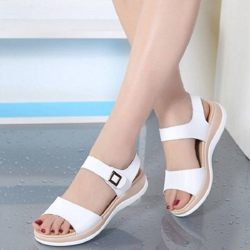 All-match flat soft sandals